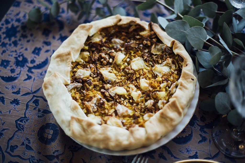 tarte aux patates douces butternut st marcelin et noix fouettmagic. Black Bedroom Furniture Sets. Home Design Ideas